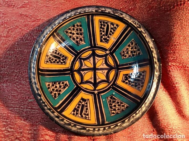 Antigüedades: CERAMICA. SEVILLA. TRIANA. PLATO GRANDE FUENTE LEBRILLO DE LOS AÑOS 20 - Foto 33 - 151687806