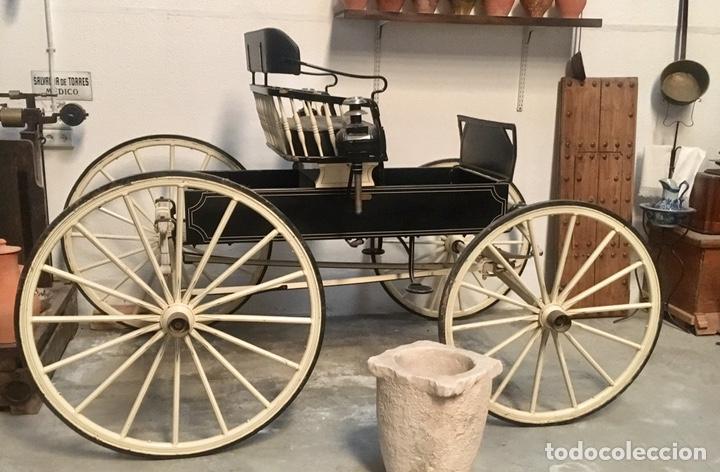 Antigüedades: Antiguo Coche de caballo tipo Araña - Foto 7 - 151687825