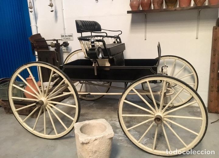 Antigüedades: Antiguo Coche de caballo tipo Araña - Foto 11 - 151687825