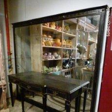 Antigüedades: CONSOLA CON ESPEJO. Lote 151700242