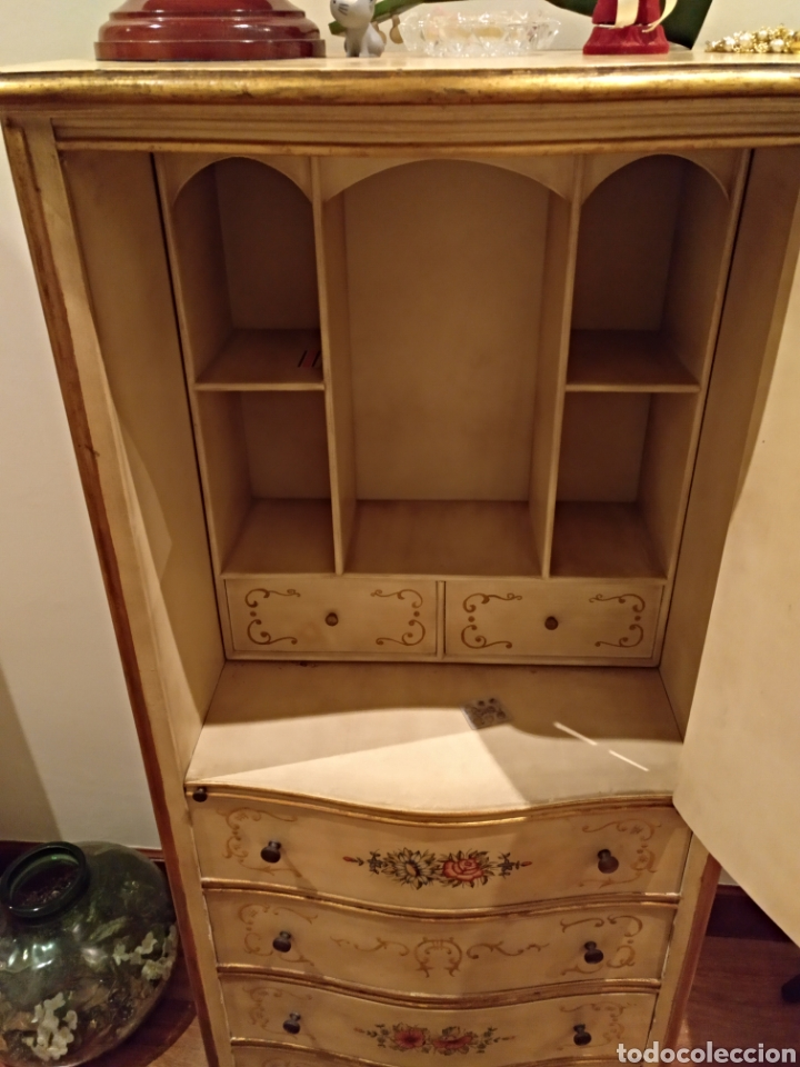 Antigüedades: Precioso escritorio/secreter - Foto 4 - 151703253