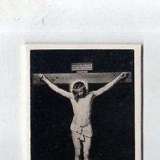 Antigüedades: MARCO DE NUESTRO CRISTO CRUCIFICADO. DISPLAY. MEDIDAS : 12.5 X 8.5 CM APROX.. Lote 151711398
