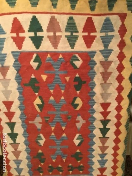 KILIM TURCO DE LANA (Antiques - Home and Decoration - Old Carpets)