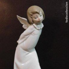 Antigüedades: PROMOCION LLADRO GRAN ANGEL PEQUEÑA FALTA ALITA 25 CMS ANGELOTE ANGELITO. Lote 151729510