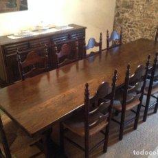 Antigüedades: MESA MONASTERIO EN EXCELENTE ESTADO. . Lote 151860966