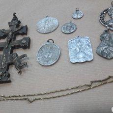 Antigüedades: GRAN LOTE MEDALLAS MEDALLÓN MÁS OBSEQUIO. Lote 151873068