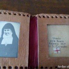 Antigüedades: CARTERA RELICARIO DE LA BEATA RAFAELA MARÍA DO SANTO CORAÇAO.. Lote 151899918