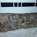 Antigüedades: PRECIOSO ANTIGUO GRAN TAPIZ MURAL CON MOTIVOS ÁRABES 145X50CM. Lote 151912018