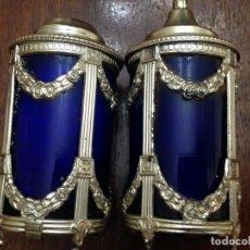 Antigüedades - dos saleros ingleses - 151926954