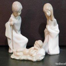 Antigüedades: PROMOCION LLADRO BELEN NACIMIENTO PESEBRE SAN JOSE VIRGEN NIÑO JESUS ALT 16 CMS. Lote 151943022