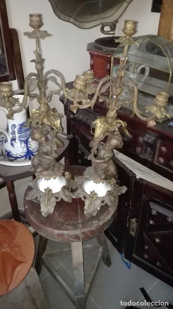 Antigüedades: Candelabros del siglo XIX. - Foto 9 - 135827558