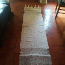 Antigüedades: MANTEL DE ALTAR. Lote 161007849