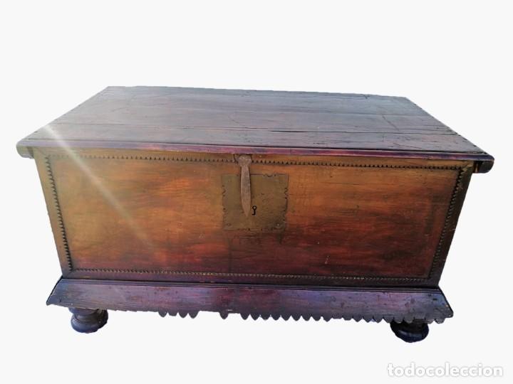 ARCA-ARCÓN-BAÚL ANTIGUO (Antigüedades - Muebles Antiguos - Baúles Antiguos)