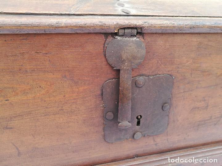 Antigüedades: ARCA-ARCÓN-BAÚL ANTIGUO - Foto 2 - 118852463