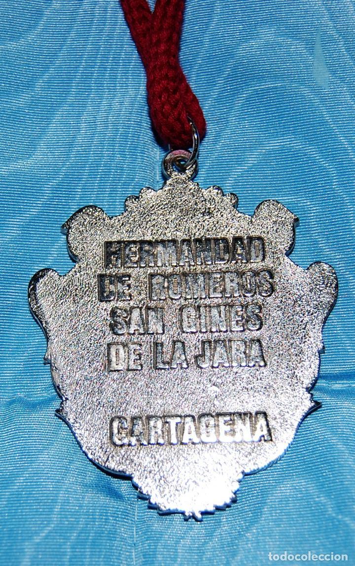 Antigüedades: Escapulario de la Hermandad de Romeros de San Gines de la Jara (Cartagena). - Foto 2 - 152003838