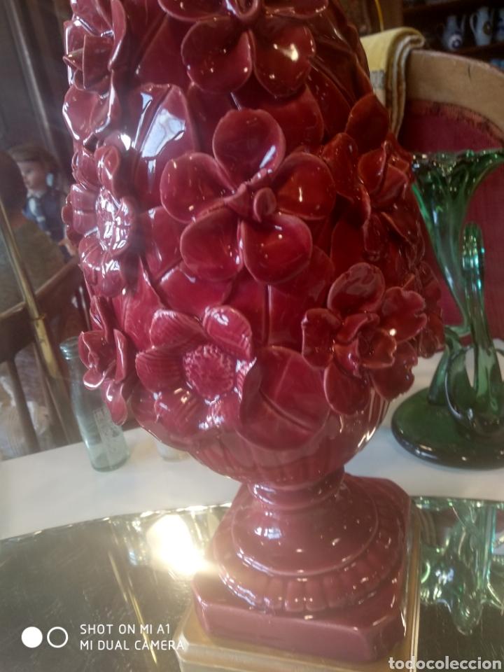 Antigüedades: Pareja de lamparas manises - Foto 20 - 116219010