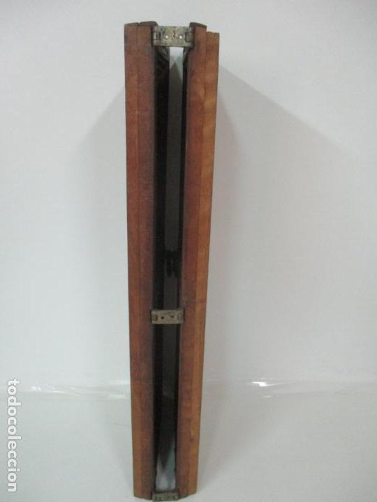 Antigüedades: Pareja de Antiguas Puertas de Armario - Madera de Ribera - Herrajes Originales - S. XVII - Foto 12 - 152014206