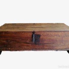 Antigüedades: ARCA-ARCÓN-BAÚL ANTIGUO NOGAL. Lote 122178563