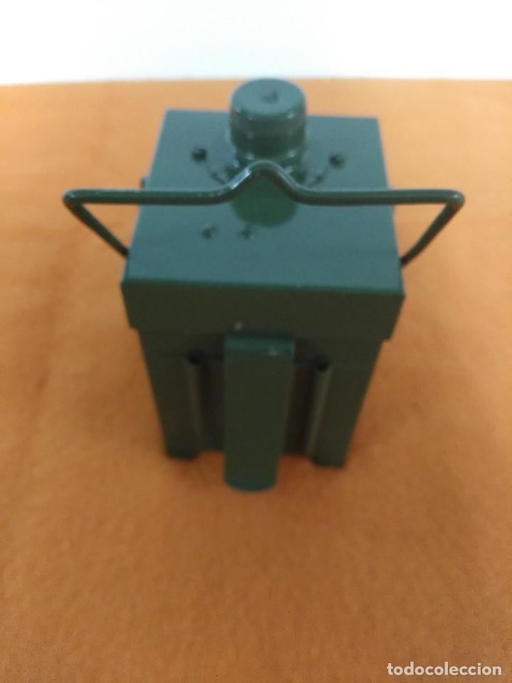 Antigüedades: farol ferroviario de tren faro con baterias INGLES - Foto 3 - 176678288