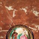 Antigüedades: CAJA JOYERO DE PORCELANA PINTADA A MANO DE SALVADOR MALLOL. PRIMERA ETAPA SIGLO XX.. Lote 152029017