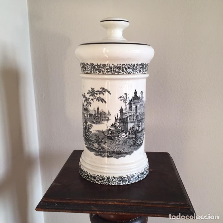 BOTE DE FARMACIA (Antigüedades - Porcelanas y Cerámicas - La Cartuja Pickman)