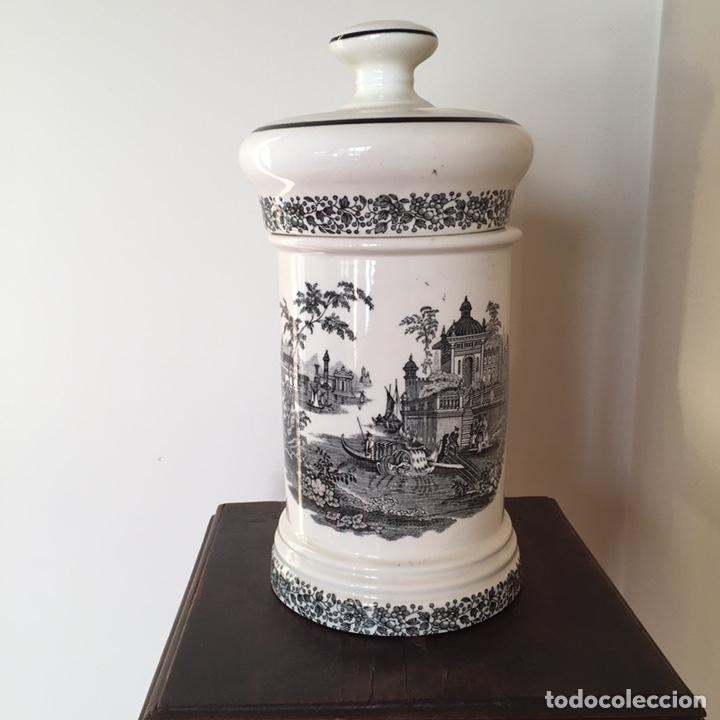 Antigüedades: Bote de farmacia - Foto 4 - 152030105
