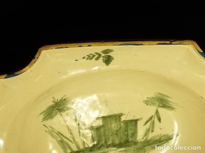 Antigüedades: BACÍA DE BARBERO. RIBESALBES. FINALES SIGLO XVIII-PRINCIPIOS SIGLO XIX. - Foto 6 - 152030738