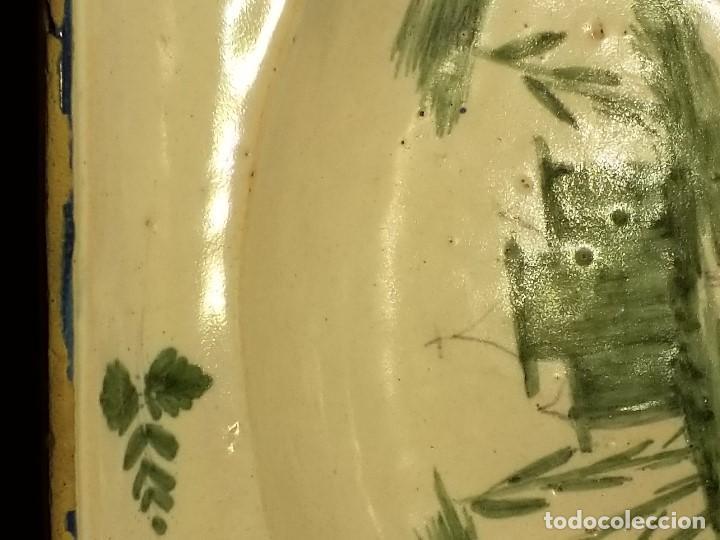 Antigüedades: BACÍA DE BARBERO. RIBESALBES. FINALES SIGLO XVIII-PRINCIPIOS SIGLO XIX. - Foto 10 - 152030738