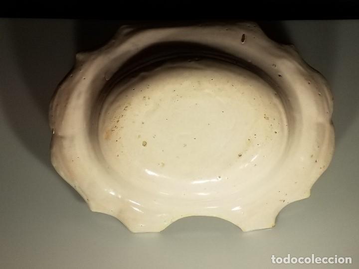 Antigüedades: BACÍA DE BARBERO. RIBESALBES. FINALES SIGLO XVIII-PRINCIPIOS SIGLO XIX. - Foto 12 - 152030738