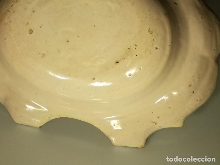 Antigüedades: BACÍA DE BARBERO. RIBESALBES. FINALES SIGLO XVIII-PRINCIPIOS SIGLO XIX. - Foto 13 - 152030738
