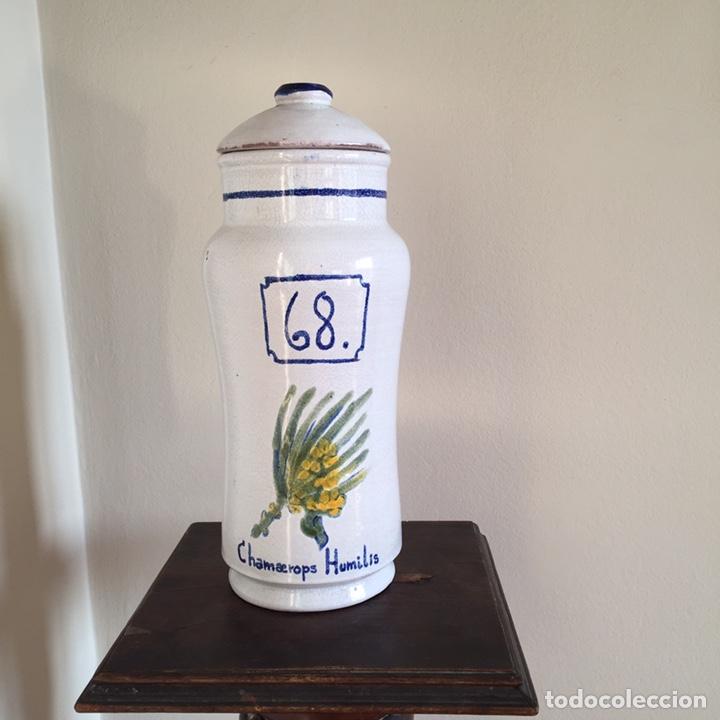 BOTE DE FARMACIA (Antigüedades - Cristal y Vidrio - Farmacia )