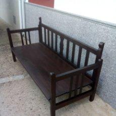 Antigüedades: ESCAÑO DE LOS AÑOS 50. Lote 152036465