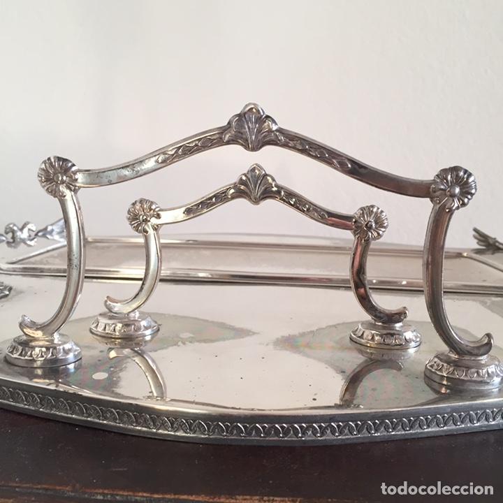 Antigüedades: Conjunto de escritorio de plata - Foto 7 - 152038896