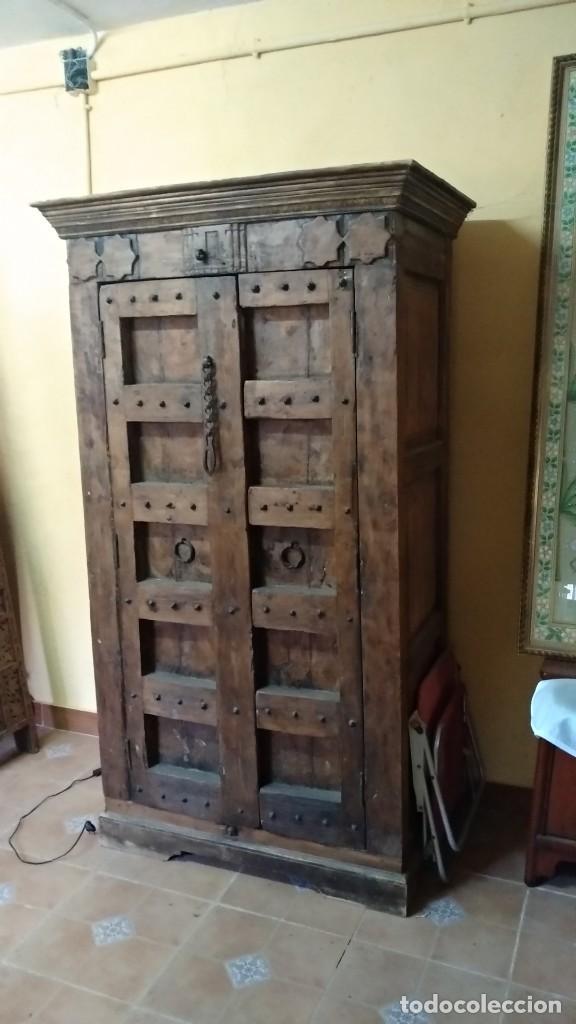 Armario antiguo de madera de teca comprar armarios - Armarios antiguos de segunda mano ...