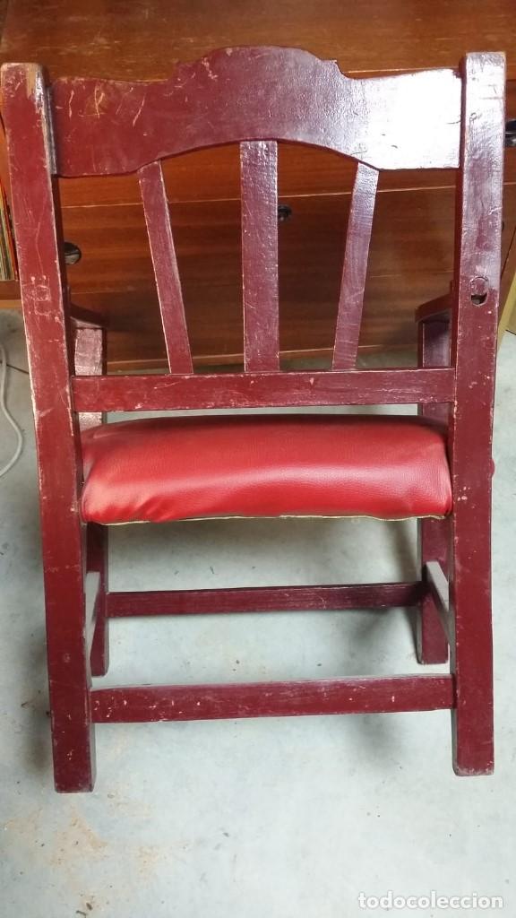 Antigüedades: silla sillon. pieza rara, muy bonita y pequeña - Foto 5 - 152042542