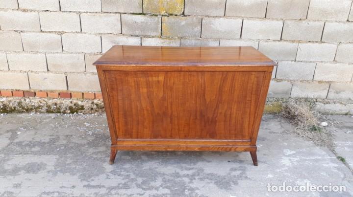 Antigüedades: Mostrador antiguo estilo art decó. Mueble televisión aparador antiguo estilo industrial vintage. - Foto 15 - 152056958