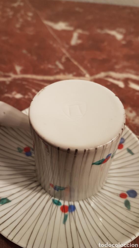 Antigüedades: TAZA DE CAFE Y PLATO DE CASTRO SARGADELOS DOLMEN. AÑOS 70 - Foto 4 - 152059980