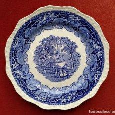 Antigüedades: PLATO BANDEJA DE PORCELANA MASON'S-VISTA HECHO EN INGLATERRA DIAMETRO 28 CM (APROX). Lote 152108398