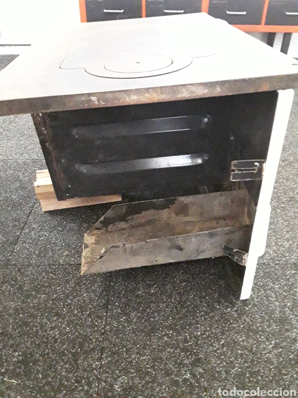 Antigüedades: Cocina economica antigua - Foto 5 - 152153578