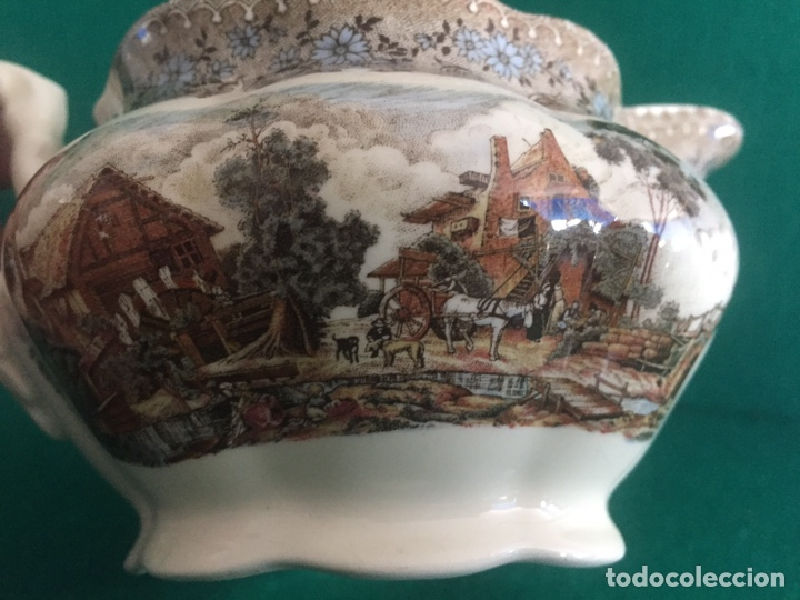 PORC.02 JUEGO TU Y YO CARTUJA PICKMAN SEVILLA (Antigüedades - Porcelanas y Cerámicas - La Cartuja Pickman)
