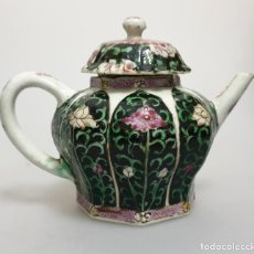 Antigüedades: TETERA EN PORCELANA CHINO CHINA SIGLO XVIII. Lote 152167990