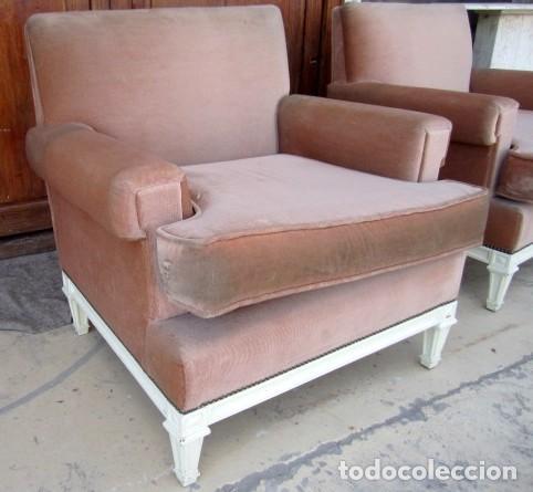 Antigüedades: Pareja de Sillones vintaje - Foto 3 - 152174310