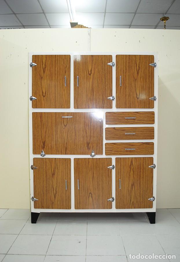 antiguo mueble vintage alacena mueble despenser - Kaufen Antike ...