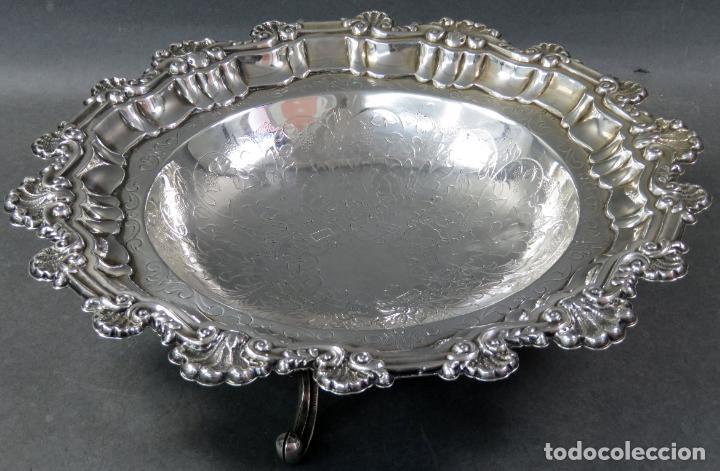 Antigüedades: Centro de mesa en plata española siglo XX - Foto 2 - 152179874
