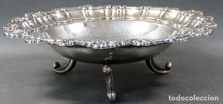 Antigüedades: Centro de mesa en plata española siglo XX - Foto 3 - 152179874
