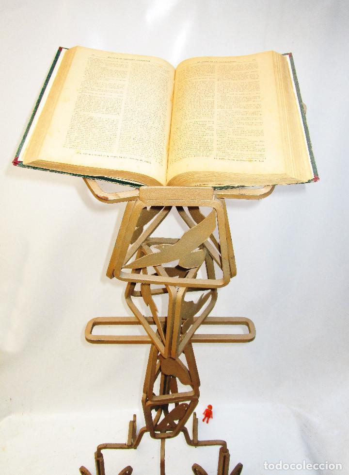 GRAN ATRIL EN HIERRO FORJADO IDEAL IGLESIA , CONGRESOS, HOTEL, RESTAURANTE.... (Antigüedades - Religiosas - Artículos Religiosos para Liturgias Antiguas)