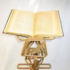 Antigüedades: GRAN ATRIL EN HIERRO FORJADO IDEAL IGLESIA , CONGRESOS, HOTEL, RESTAURANTE..... Lote 152204258