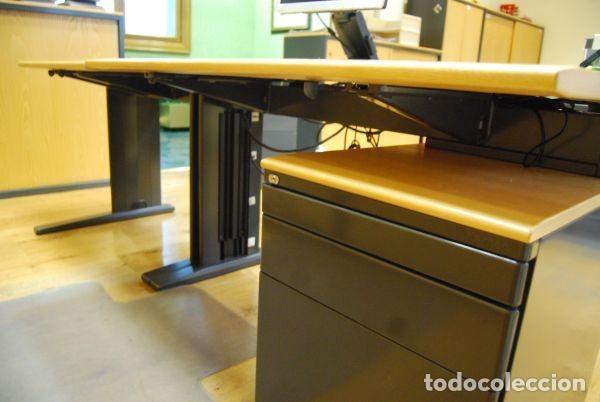 mesa de despacho/oficina rectangular integrada - Comprar Mesas ...