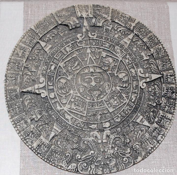 Antigüedades: CALENDARIO AZTECA PARA PARED - Foto 1 - 152218166