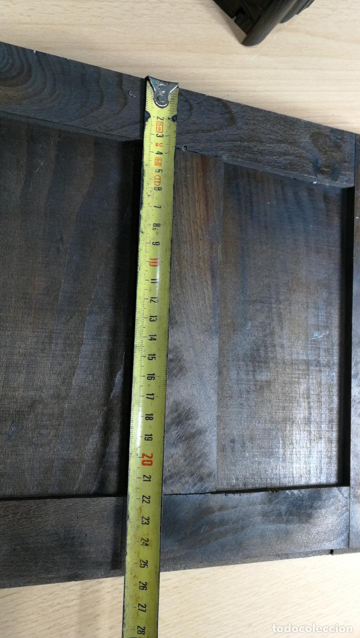 Antigüedades: Cajón, herrajes y puerta de madera para mueble antiguo - Foto 31 - 152230046